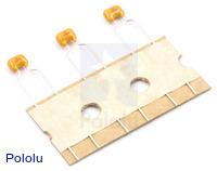 Ceramic Capacitor 3-Pack 0.1uF 100V