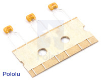 Ceramic Capacitor 3-Pack 0.1uF 100V