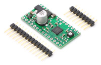 A4983/A4988 stepper motor driver carrier with regulators with included hardware.