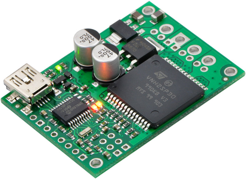 Pololu jrk 12v12 usb motor controller with feedback for Types of motor controllers