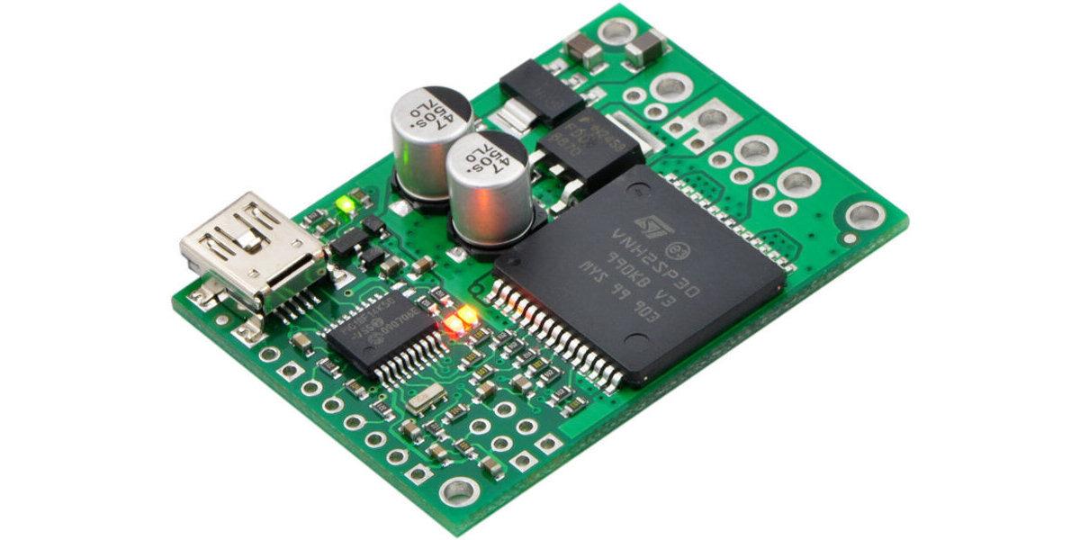 Pololu Jrk 21v3 USB Motor Controller with Feedback Fully Assembled