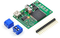 Pololu jrk 12v12 USB motor controller with feedback with included hardware.