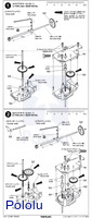 Instructions for Tamiya 4-Speed Crank-Axle Gearbox page 2.