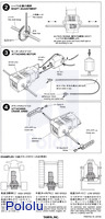 Instructions for Tamiya 3-Speed Crank-Axle Gearbox page 2.