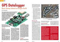 Inside Elektor magazine September 2009.