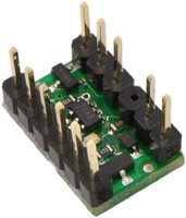 RC switch with small low-side MOSFET with include hardware soldered in.