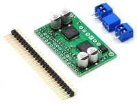 Dual MC33926 motor driver carrier with included hardware.