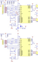 Dual MC33926 motor driver carrier schematic.