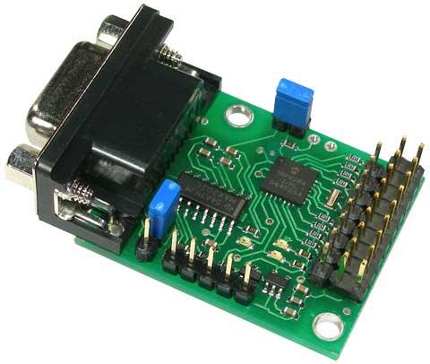 Pololu Serial 8-Servo Controller (embled)