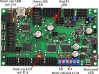 Orangutan SVP LEDs.