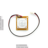 PIR motion sensor SE-10 top view.