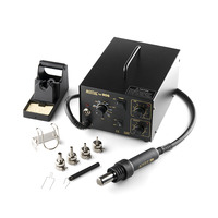 Hot Air Rework Station with Soldering Iron HR906