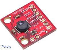 SCP1000 Absolute Pressure Sensor Carrier