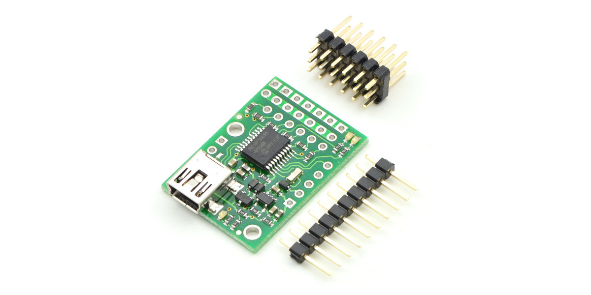 Pololu - Micro Maestro 6-Channel USB Servo Controller (Partial Kit)