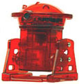 OWI-9870 Jungle Robot walking configuration.