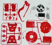 OWI-9870 Jungle Robot kit contents.
