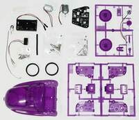 OWI-9910 Weasel Robot kit contents.