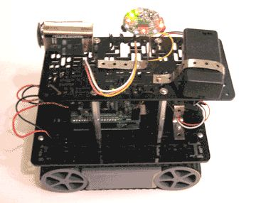 Beacon Locating Robot - Powered by Arduino and IR Transceiver