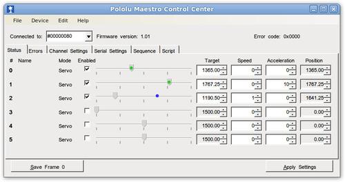 Pololu Maestro Servo Controller User's Guide