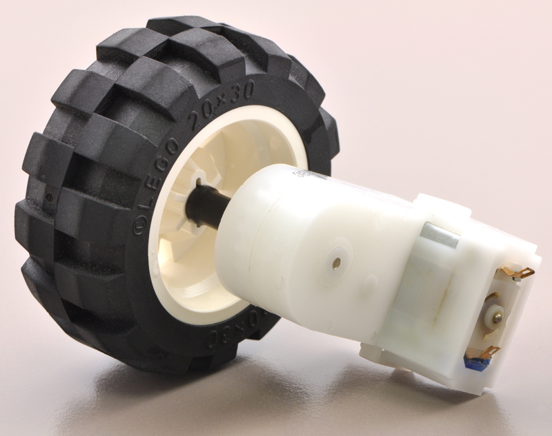 Pololu - 2mm Shaft Adapter for LEGO Wheels (Pair)