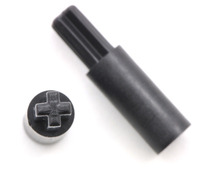 3mm hexagonal shaft adapter for LEGO wheels (pair).
