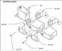 Joinmax Digital Elbow Joint Kit assembly diagram.