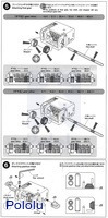 Instructions for Tamiya mini motor multi-ratio gearbox (12-speed) kit page 3.