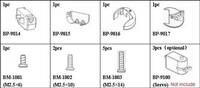 Joinmax Digital Shoulder Joint Kit parts list (servo not included).