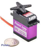 Power HD high-torque digital servo DS8325HV.