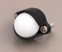 "Pololu ball caster with 1/2"" plastic ball."