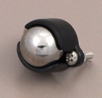 "Pololu ball caster with 1/2"" metal ball."