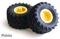 Tamiya 70096 Off-Road Tires (2 tires)