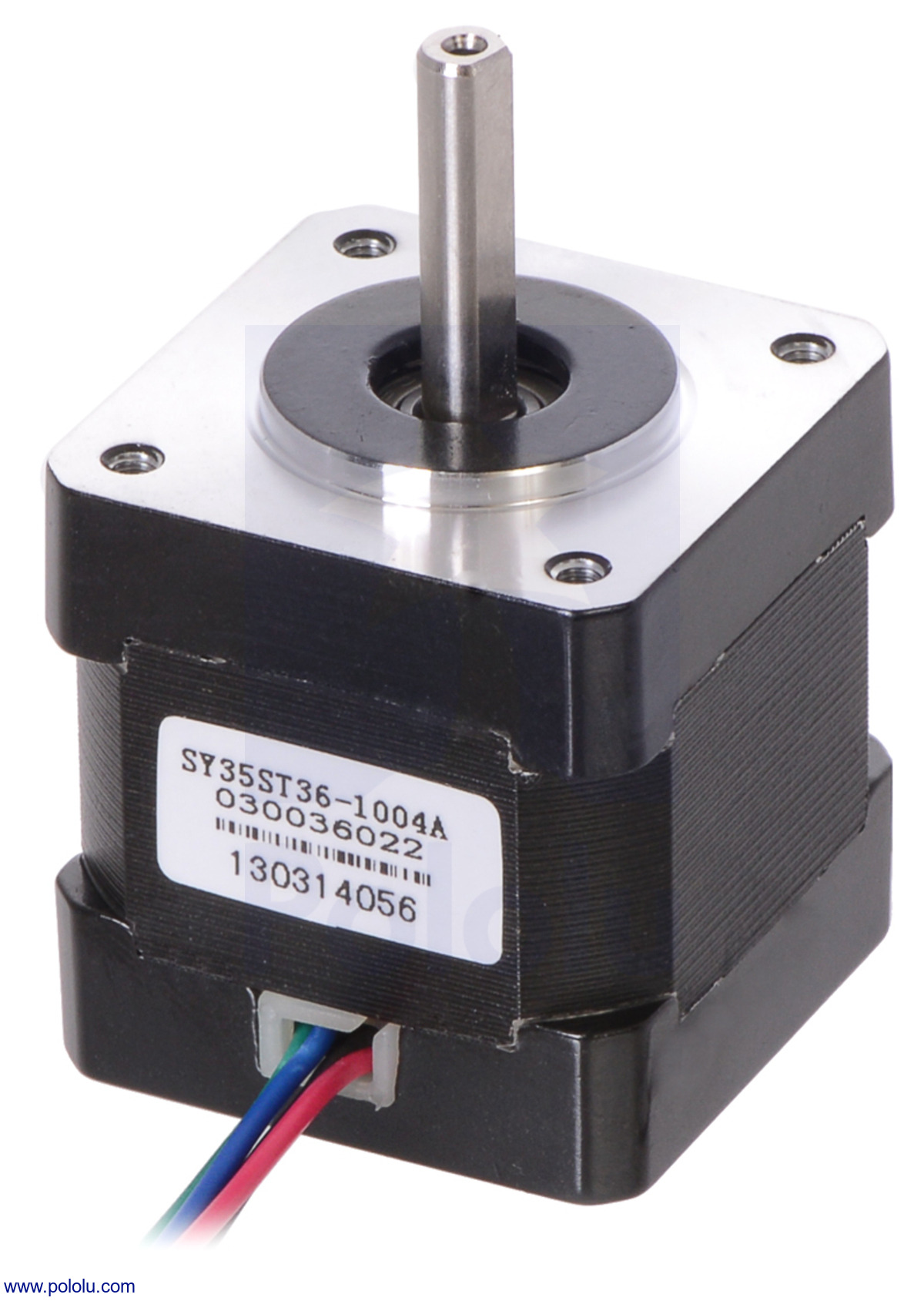 Pololu stepper motor bipolar 200 steps rev 35 36mm 2 for Servo motor and stepper motor