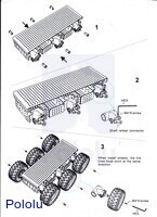 Assembly instructions for the Dagu Wild Thumper 6WD all-terrain chassis.