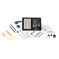 Arduino Inventor's Kit components.