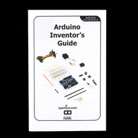 Arduino Inventor's Kit printed guide.