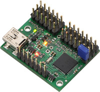 Mini Maestro 12-channel USB servo controller (assembled version).