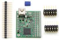Mini Maestro 12-channel USB servo controller (partial kit version).