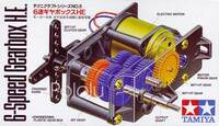 Tamiya 72005 6-Speed Gearbox box front.