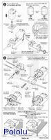 Instructions for Tamiya universal gearbox page 2.