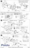 Instructions for Tamiya high-speed gearbox page2.