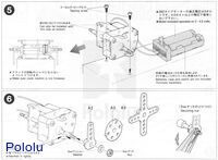 Instructions for Tamiya high-speed gearbox page 3.