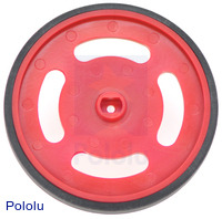 Solarbotics GMPW-R Red Wheel