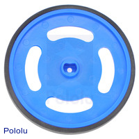 Solarbotics GMPW-LB Blue Wheel