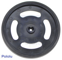 Solarbotics GMPW-B Black Wheel (1 pcs)