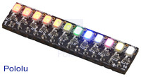 Elabguy LED-Rainbow-V1B 12-LED Rainbow Bar