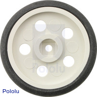 "Solarbotics GM10 1"" Wheel White"
