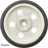 "Solarbotics GM10 1"" Wheel White"