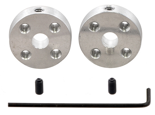 New products: Universal Aluminum Mounting Hubs with M3 holes