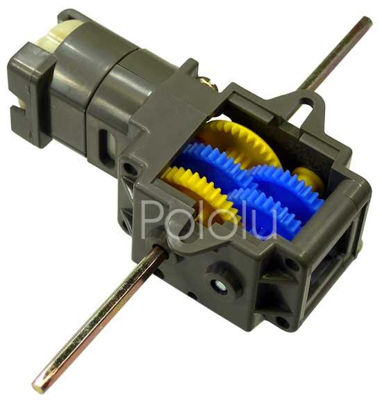 Pololu Tamiya 70167 Single Gearbox 4 Speed Kit